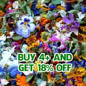 Dried Flowers Petals Dry Petals, 62 Types! Wedding Confetti Tea Soap Decor Craft