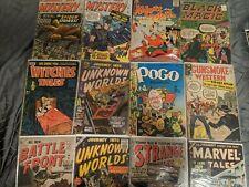 AMAZING GOLDEN AGE COMIC Collection 60 Comics Pre Code Horror Sci-Fi GGA