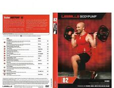 Les Mills Body Pump 82 Complete DVD, CD, Case and Notes
