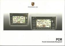 PORSCHE  PCM Uso di Manutenzione 2009 Communiction Managment handbook 952 BA