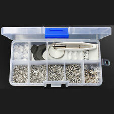 New Eye Glasses Sunglasses Repair Tool Screw Nose Pad Optical Assortment Kit Set