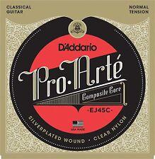 D'Addario Guitar Strings  Classical  EJ45C Pro-Arte Composites Normal Tension