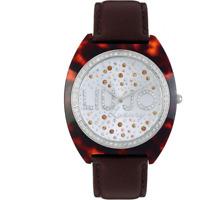Orologio LIU JO LUXURY mod. ALICE ref. TLJ386 Donna marrone strass multicolor