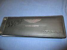 2007 ASTON MARTIN V8 VANTAGE OWNERS MANUAL ENGLISH