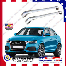 Top Roof Rack fit Audi Q3 2013-2018 up Silver Baggage Luggage Cross Bar Crossbar