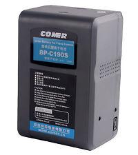 Rechargeable COMER BP-C190S 190Wh Li-ion Battery Sony V-Mount V Lock DSLR Camera