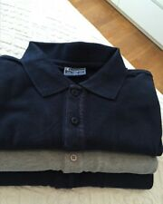 3 Polo-Hemden, CHAMPION U.S.A.(2 x marine, 1 x grau), Größe XL
