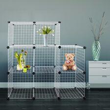 Hug Flight Mesh Cube Modular Storage Rabbit Outdoor Garden System Cage Wire Box