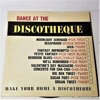 Dance At The Discotheque: Somerset 1964 Vinyl LP Album Stereo Jazz Pop
