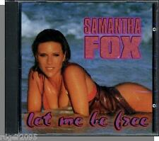 Samantha Fox - Let Me Be Free + Say What You Want (1998)- New Ichiban CD Single!