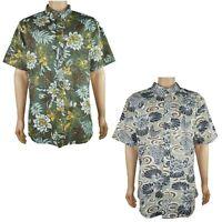 Reyn Spooner Mens Size XL-3XL Tailored Fit Hawaiian Print Button Up Shirt NWT