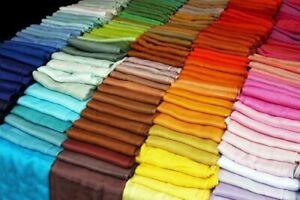 Pashmina Scarf 100% Viscose Plain Wrap Shawl Stole Many Colours 200g TOP QUALITY