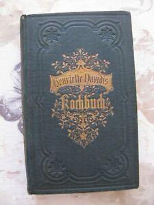 Henriette Davidis Kochbuch / 1868