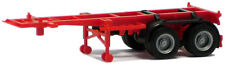 HO Scale Trucks -480004 - 20ft Container Trailer - Red