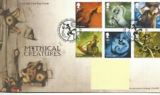 GB - FIRST DAY COVER - FDC - COMMEMS -2009-  MYTHICAL CREATURE - Pmk Dragonby