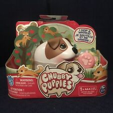 Jack Russell Terrier with Toy Chubby Puppies Spin Master New Nip