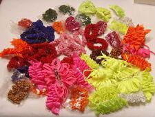 wholesale lot 60 vintage unused hair decorations bands clips bellydance 46160