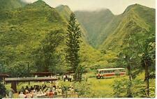 Kepaniwai Park in Maui's Iao Valley, Hawaii postcard