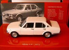 ALFA ROMEO ALFETTA 1.8 1972 WHITE MINICHAMPS 436120200 1/43 BIANCA WEISS BLANCHE