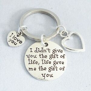 """""""I didn't give you the gift of life, life gave me the gift of you"""" Adoption Step"""
