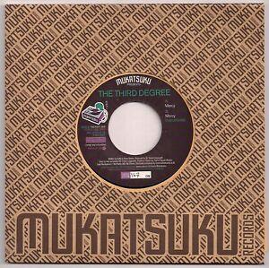 MODERN SOUL 45 - THE THIRD DEGREE - MERCY -VOCAL & INST - UK MUKATSUKI - MINT