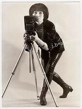 "RANDY PHOTOGRAPHER EXTREME BOOTS / SCHARFE FOTOGRAFIN * Vintage Fetish Photo ""L"""