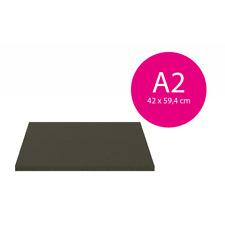 20 Bogen Leichtschaumplatten schwarz / schwarz  - 5mm - 42x59.4cm (A2)