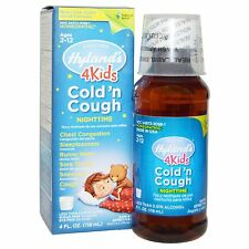 HYLANDS - 4 KIDS COLD & COUGH NIGHTTIME AGE 2 - 12 - 4fl Oz - 120ML