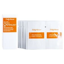 Lot of (40) Sally Hansen Salon Gel Polish Nail Cleanser Pads  - New