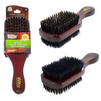 WavEnforcer Double Sided Fade Wave Hard Soft Natural Boar Bristle Hair Brush 510