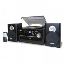 Jensen 3-Speed Stereo Turntable with CD System  Cassette and AM-FM Stereo Radio