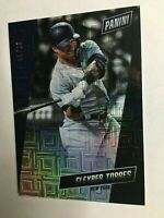 GLEYBER TORRES 2019 PANINI THE NATIONAL ESCHER SQUARES SSP YANKEES RARE /25