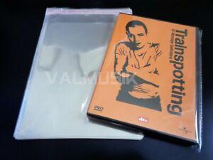 25 Fundas DVD Con Autocierre Adhesivo Para Proteger Estuche DVD - Brillantes -