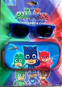 Pj Mask Kids Sunglasses and case Official New 100% UV