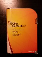Microsoft Office 2007 Standard / Vollversion / deutsch / Retailbox 021-07750