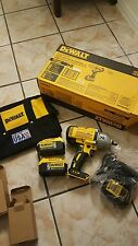 New DEWALT DCF899P2 20V MAX Brushless Li-Ion 1/2 Impact Wrench Kit 5AH Batteries