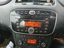 FIAT PUNTO EVO 2010 CD Radio Stereo Head Unit Genuine