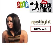 DIVA Wig - 100% Human Hair Swiss Net Lace Front by Sleek - BLACK FRIDAY DEAL