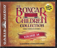 NEW The Boxcar Children Collection Volume #34 Audio CD Gertrude Chandler Warner