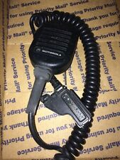 Motorola Remote Speaker Microphone NMN6193C Radio Mic for 2-Way Radio No Clip