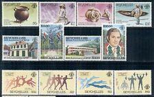SEYCHELLES 534-50 SG579-95 MNH 1984 Commemoratives 3 sets Cat$9