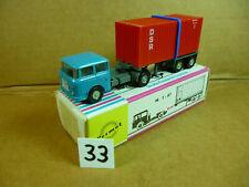 PERMOT, Skoda S706 RTTN, Sattelzug Container 20ft, DSR, OVP, M1:87