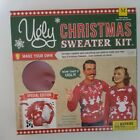 NEW Unisex Mens Medium Womens Small Ugly Christmas Sweater Kit Red Reindeer
