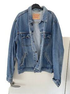 Vintage Levi Denim Jacket Size XL