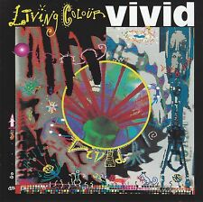 LIVING COLOUR - VIVID CD w/BONUS Trax ~ CULT OF PERSONALITY~FUNNY VIBE +++ *NEW*