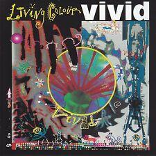 LIVING COLOUR - VIVID CD w/BONUS Trax ~ CULT OF PERSONALITY~FUNNY VIBE +++ *NEW*