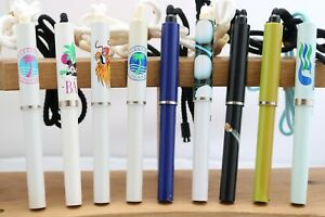 Vintage Sheaffer No Nonsense Ballpoint Pens with Lanyards, 9 Designs, UK Seller