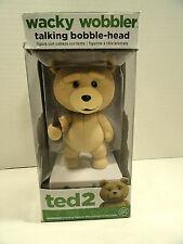 Ted 2 Wacky Wobbler Talking Bobble-Head Funko
