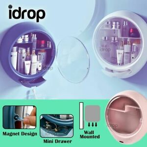idrop Portable Waterproof Multistorage Cosmetic Storage Compartment with Magnet