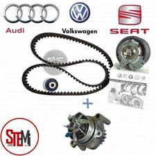KIT DISTRIBUZIONE ORIGINALE VW + POMPA ACQUA GRAF AUDI A3 A4 GOLF V 2.0 TDI 140